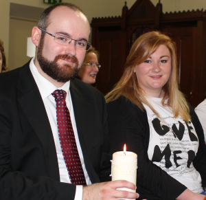 The Godparents - my wonderful little Bro and amazing Neice/Therapist!